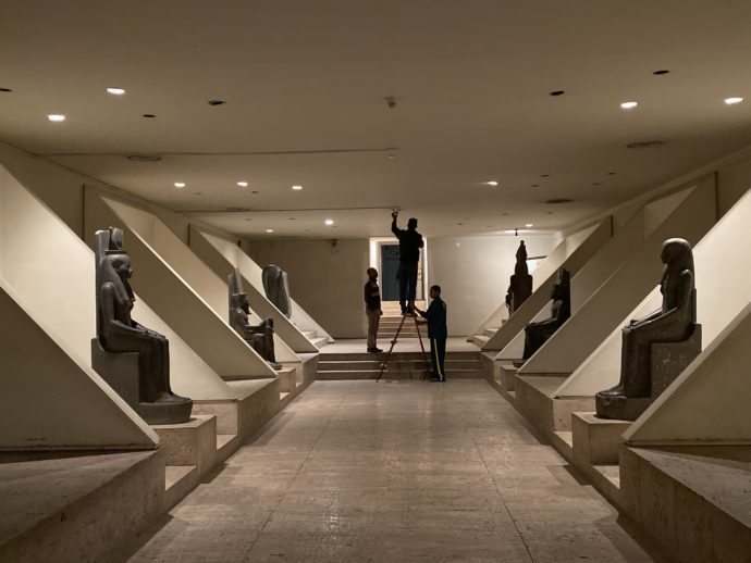 ルクソール博物館の特別展示室