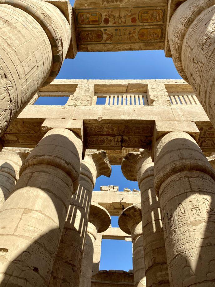 カルナック神殿の大列柱室