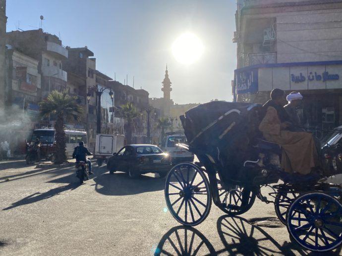 馬車と太陽