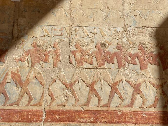 ハトシェプスト女王葬祭殿の壁画