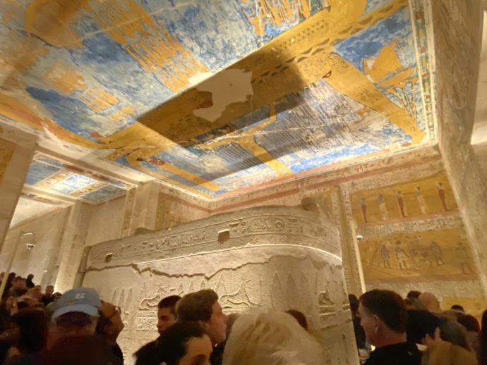 ラムセス4世の墓の壁画