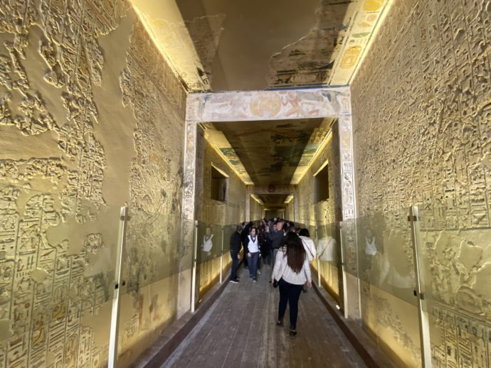 ラムセス9世の墓の通路