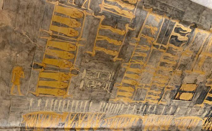 ラムセス9世の墓の天井画