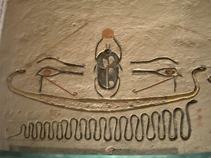 ラムセス9世の墓の壁画