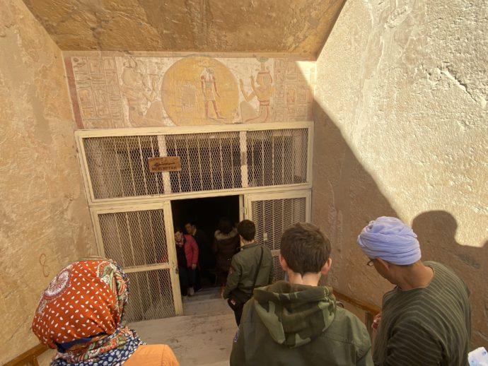 メルエンプタハの墓の入口
