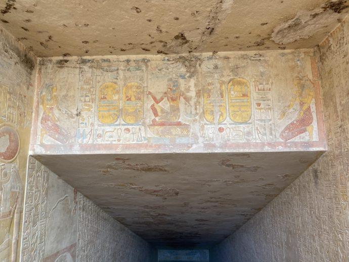 メルエンプタハの墓の天井