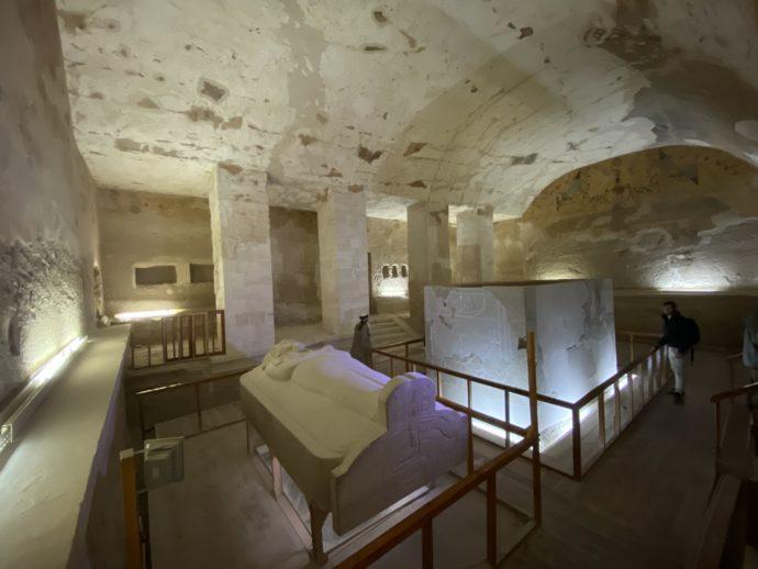 メルエンプタハの墓の玄室