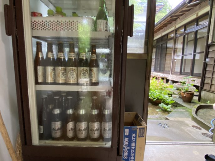 販売中のビール