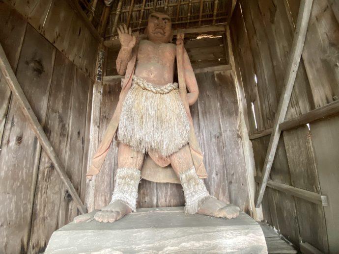 勝常寺の仁王像