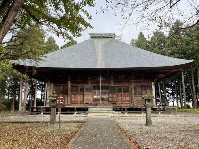 勝常寺の薬師堂