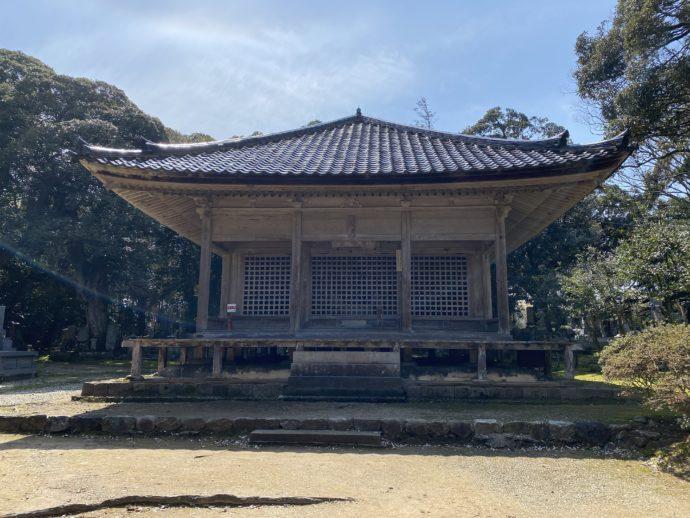 妙成寺の経堂