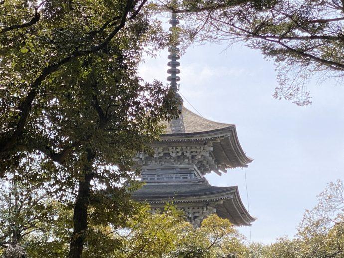 妙成寺五重の塔