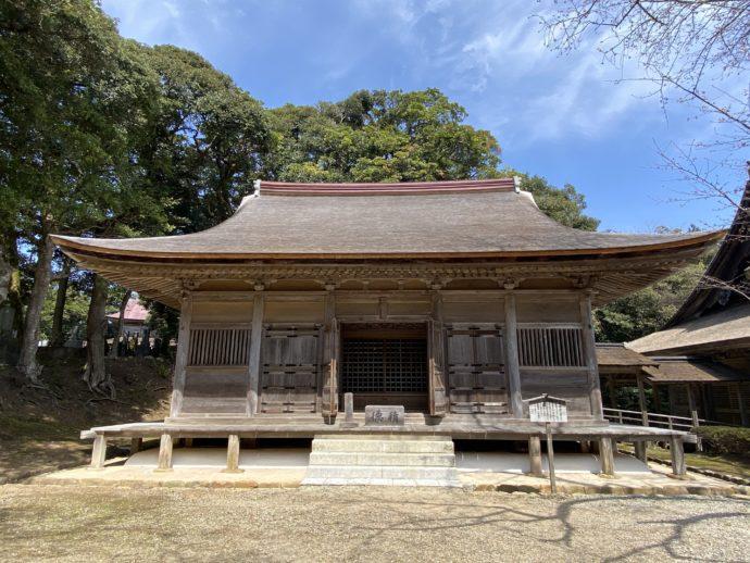 妙成寺の三光堂
