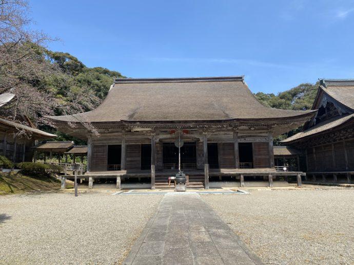妙成寺の本堂