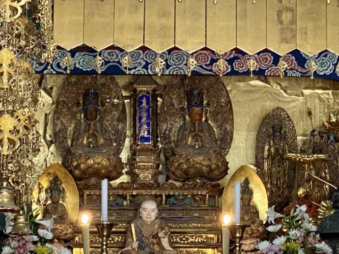 妙成寺本堂の仏