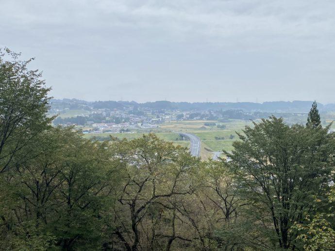 東物見から眺める景色