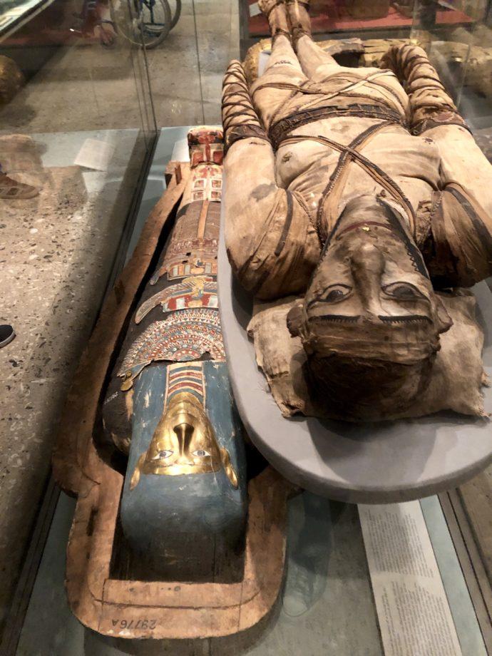 大英博物館のミイラ