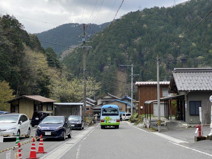 横蔵寺の門前