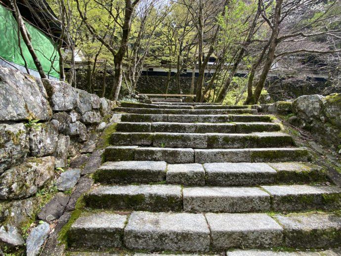 医王橋の階段