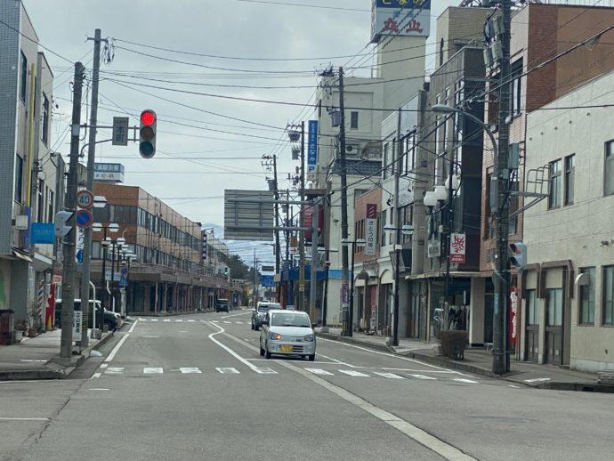富山の道路