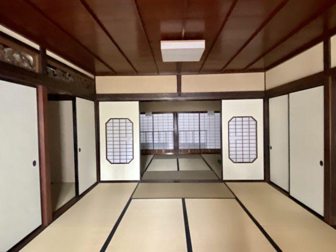 斎賀家住宅の和室