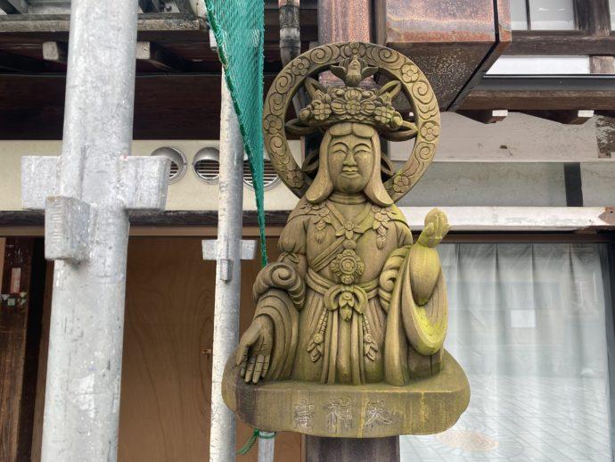 木彫りの吉祥天
