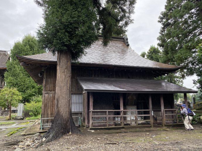 長勝寺の建屋