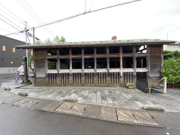 富田の清水の外観