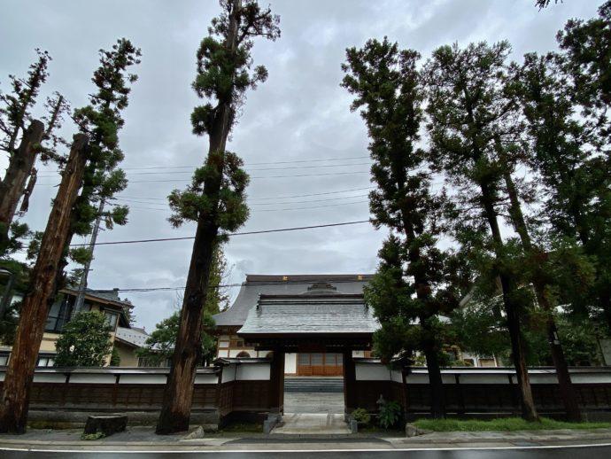 禅林街のお寺