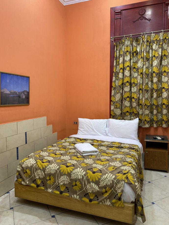 カイロのホテルの客室