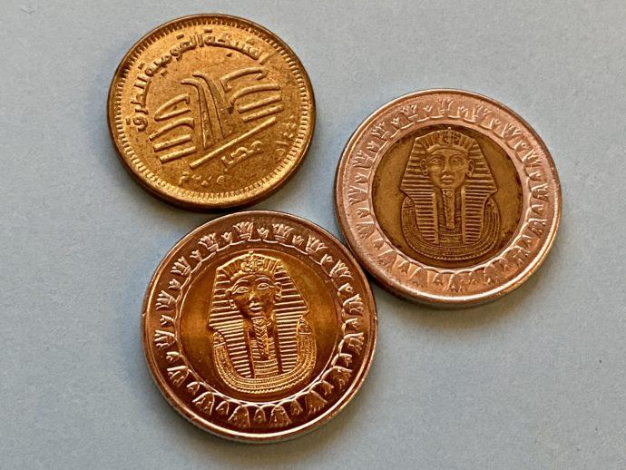 エジプト硬貨