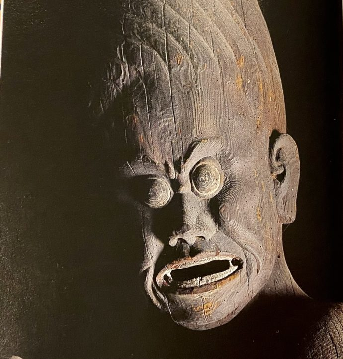横蔵寺の深沙大将